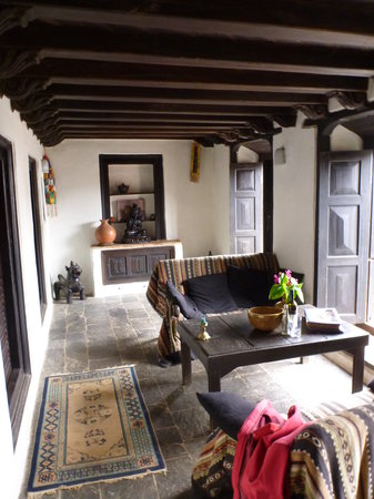 """The Old Inn: sitting room of our """"suite"""""""