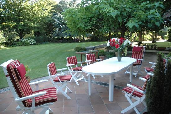 La Coulonniere : Terrasse