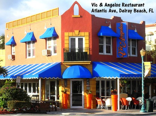 Vic & Angelo's Delray Beach: Vic & Angelos Restaurant, Atlantic Ave, Delray Beach, FL
