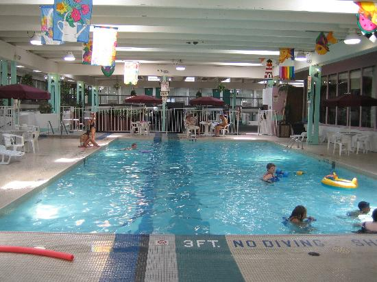 Clarion Inn Rochester: Swimming pool