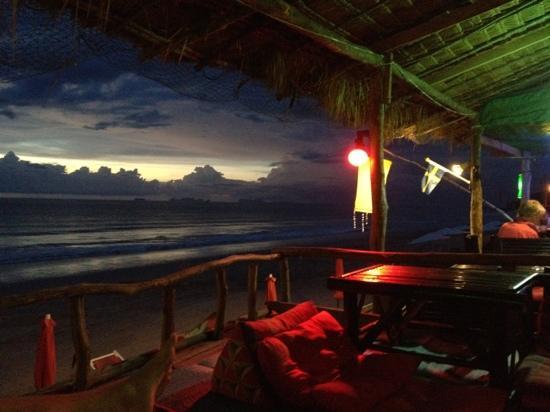 Round House: beach bar view