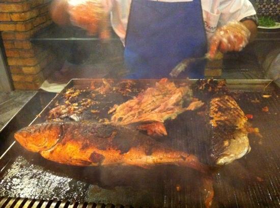 Faraana Reef Resort : pesce al grill