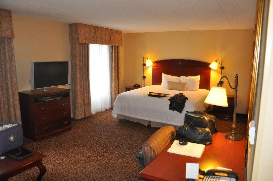 Hampton Inn & Suites Fredericksburg: King Room