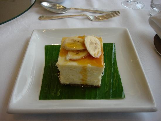 Pillars Restaurant: Dessert