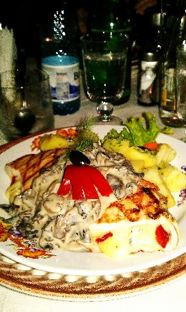 Crama Sibiul Vechi: no idea what it's called, but this plate was fantastic!!
