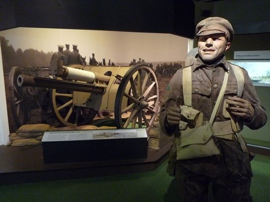 National Army Museum : Level 2 exhibit