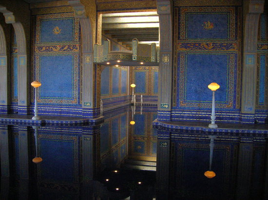 San Simeon, Californië: Indoor pool