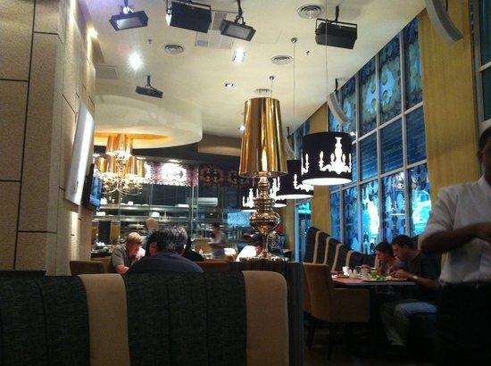 Fraser Place Kuala Lumpur: breakfast dining area