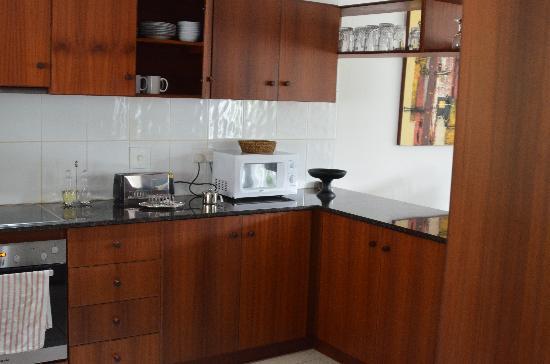 Hanneman Holiday Residence: unsere perfekt eingerichtete Küche