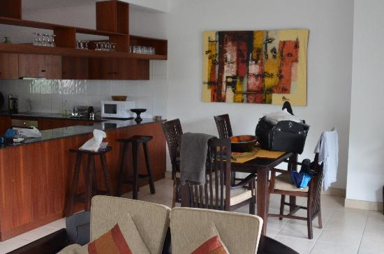 Hanneman Holiday Residence: der Eßbereich