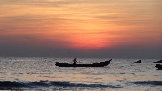 Amazing Ngapali Resort: Sonnenuntergang