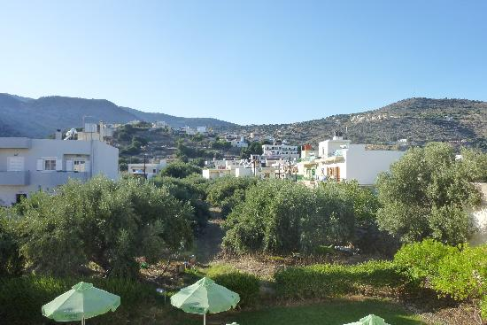 Olive Grove Apartments: View of mountains from balcony