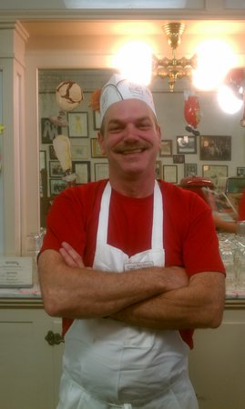 The Local Tour Guide: You'll get to meet Walt from the historic Schimpffs Confectionery!
