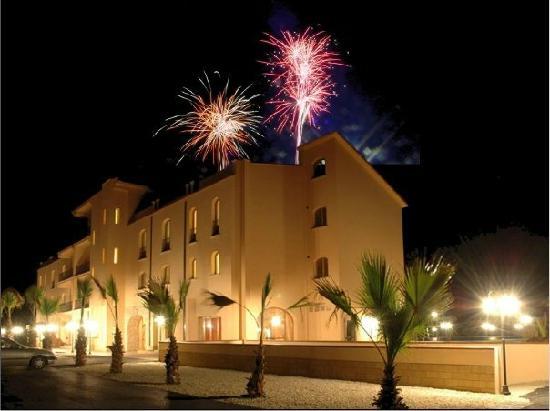 Hotel Villa Giatra: fireworks