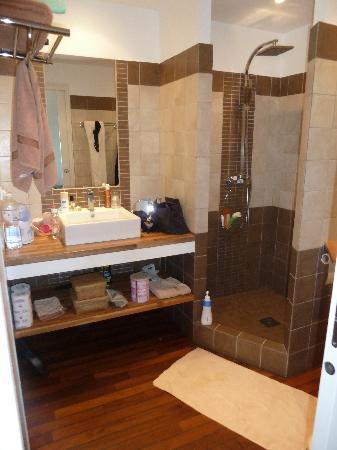 Les Jardins de Mathieu : salle de bain