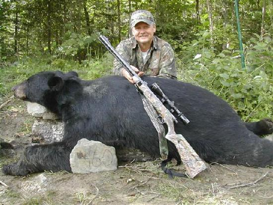 Oxbow, เมน: Maine Bear Hunting