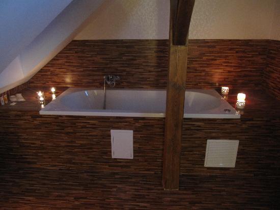 Pytloun Design Hotel: bath tube