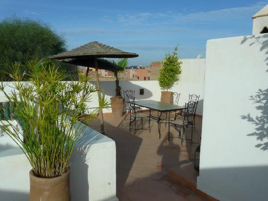 Riad les Orangers d'Alilia Marrakech : Terrasse