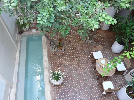 Riad les Orangers d'Alilia Marrakech : Patio