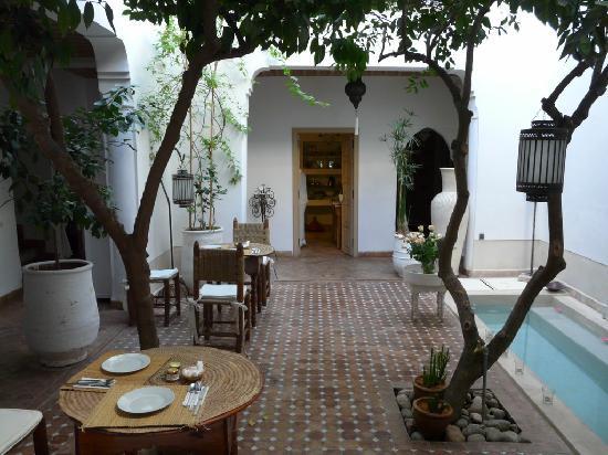 Riad les Orangers d'Alilia Marrakech: Patio