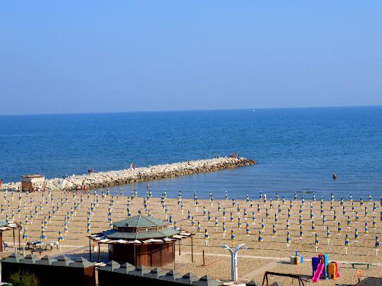 San Giuliano a Mare, Italy: Blick aus dem Zimmer im vierten Stock