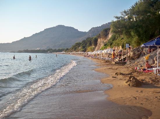 Island Blue Hotel : pefkos beach1