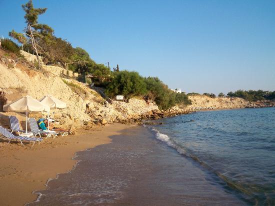 Island Blue Hotel : pefkos beach2