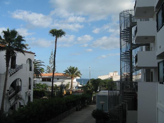 Roca Verde Apartments: Utsikt från balkong