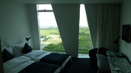 AC Hotel by Marriott Bella Sky Copenhagen: Bella Sky Cromwell - room with a view