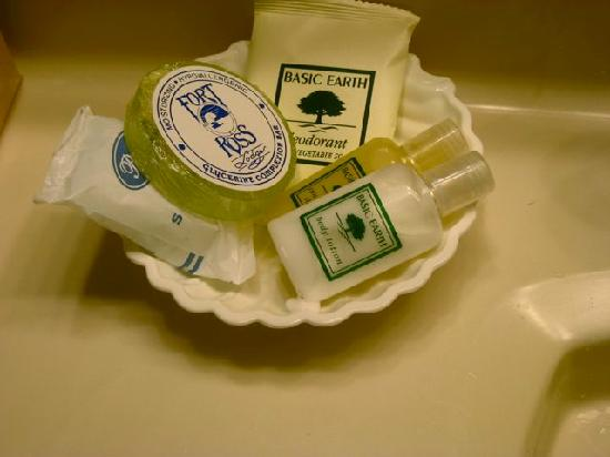 Fort Ross Lodge: Nice selection of soaps