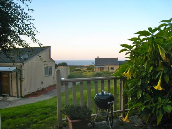 Fort Ross Lodge: View from the patio