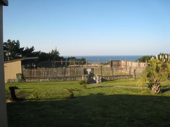 Fort Ross Lodge: Spa and sauna area