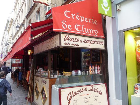 Creperie de Cluny, Paris Sorbonne Restaurant Reviews