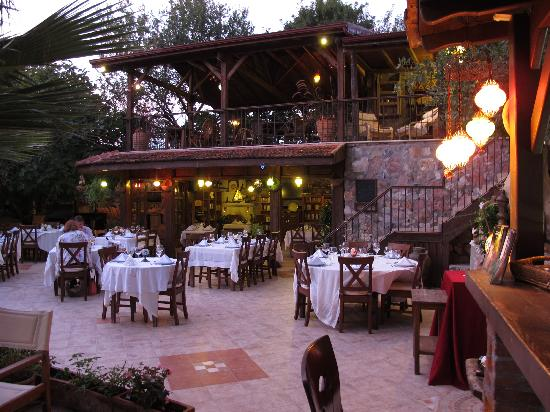 Kayakoy, Turkey: Restaurant area