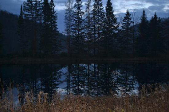 Auberge du Trappeur: Balade nocturne