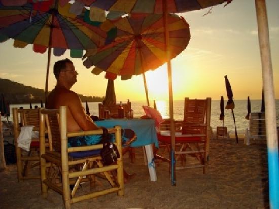 Kamala Beach : Strand-Restaurant