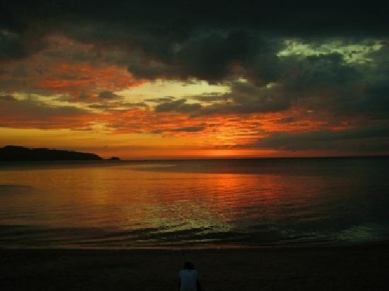Kamala Beach : Sonnenuntergang