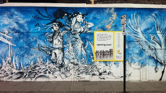 London Graffiti Tours: Near Shoreditch High Street