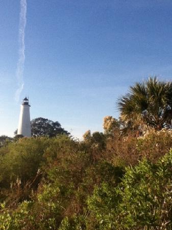 St. Marks Lighthouse: the lighthouse