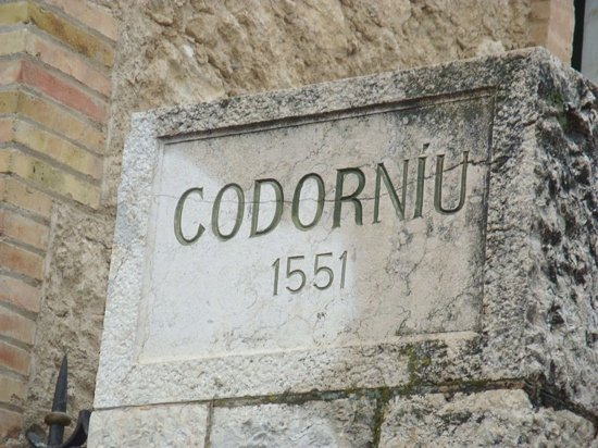 Codorniu : outside the entrance