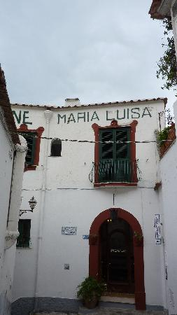 ‪‪Pensione Maria Luisa - Amalfi Coast‬: The front  entrance‬