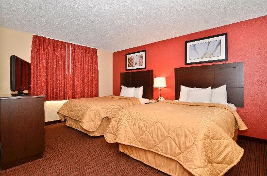 MainStay Suites Alcoa Knoxville Airport: Double Suite