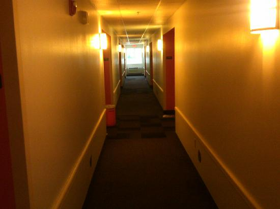 Motel 6 Sandusky-Milan: First Floor Hallway