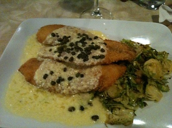 Close Harbour Seafood: Tilapia Piccata