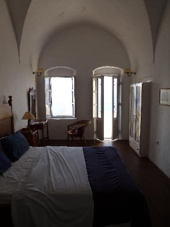 Old Oia Houses: Bedroom. Unit #1