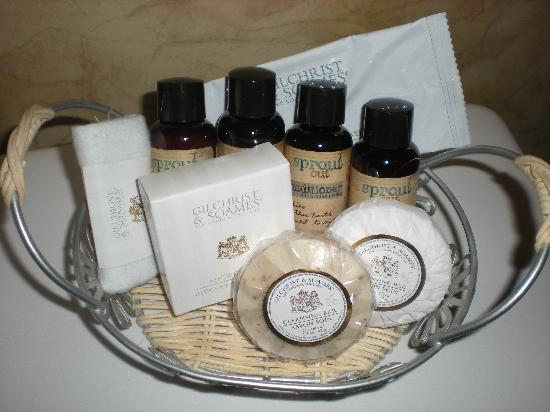 Craig Victorian Bed and Breakfast: Toiletries