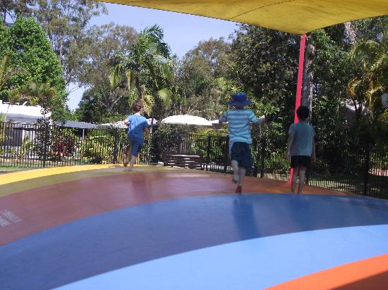 NRMA Treasure Island Holiday Park: Fun Times for the Kiddies