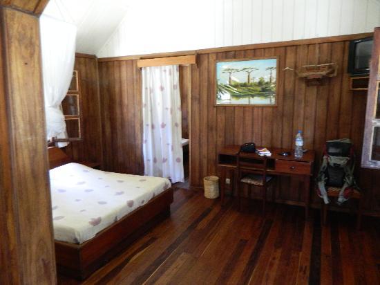 Renala Au Sable D'Or: Inside bungalo # 3