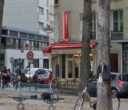 Le Bellerive : Outside of the restaurant