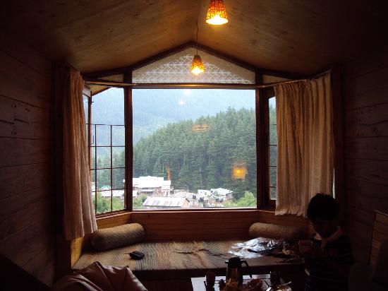 Manali Heights: Room view